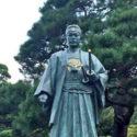 土方歳三の銅像(高幡不動尊)