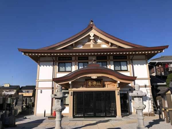 日野欣浄寺本堂