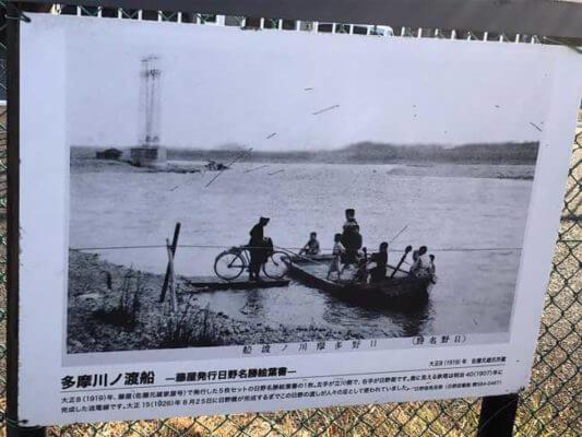 日野渡船場跡の写真