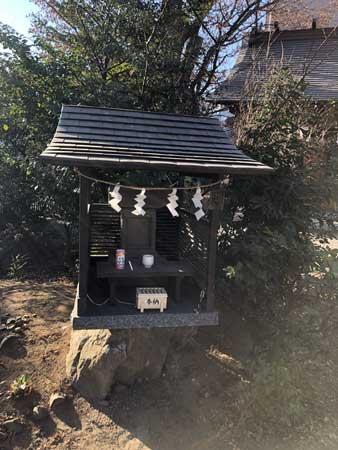 日野八坂神社境内の日枝神社