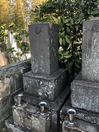 近藤久太郎(近藤勇の孫)の墓