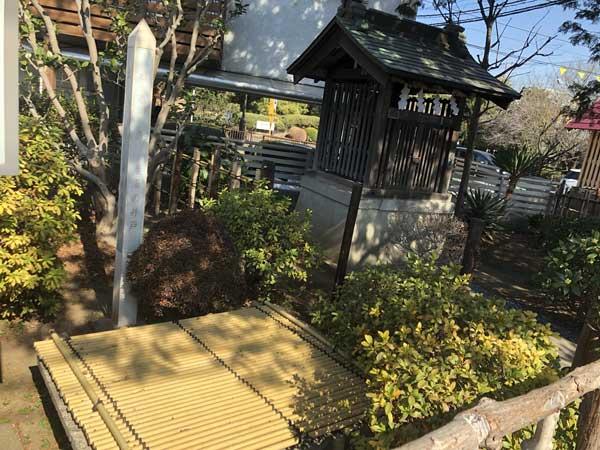 近藤勇産湯の井戸(生家跡)