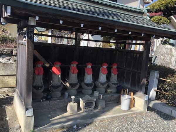 龍源寺の六地蔵