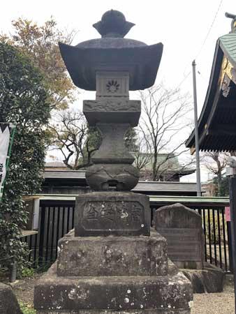西光寺の常夜灯
