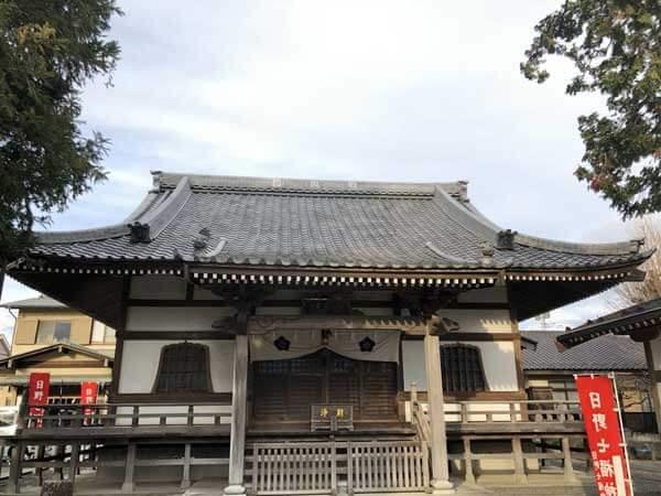 石田寺本堂
