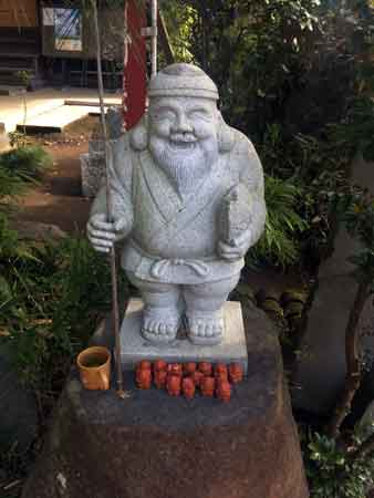 長流寺の恵比寿像