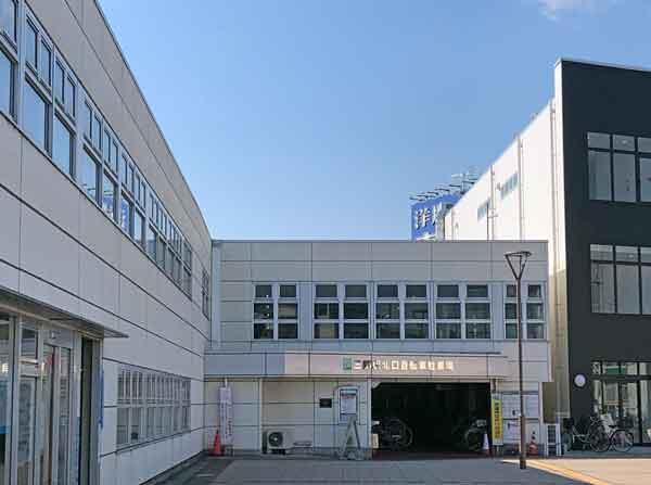 三郷駅北口レンタサイクル