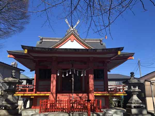 石明神社(土方家一帯の産土神)|日野市の新撰組ゆかりの地観光スポット