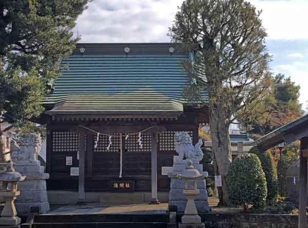 流山浅間神社(新政府軍本陣裏)|流山市の新選組ゆかりの地観光スポット