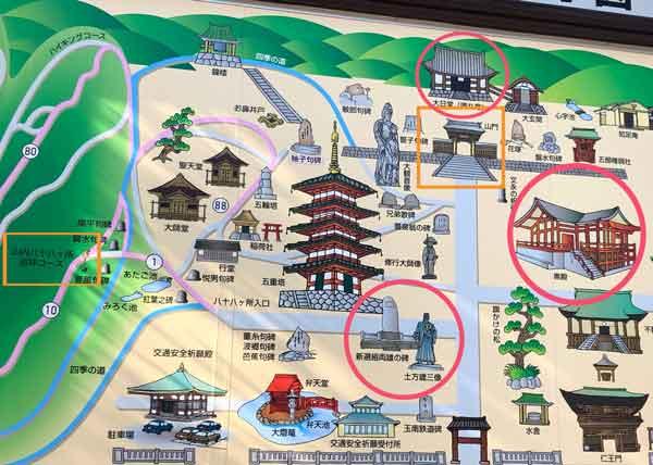 高幡不動尊の新選組ゆかりの場所