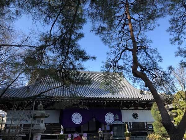 高幡不動尊の大日堂