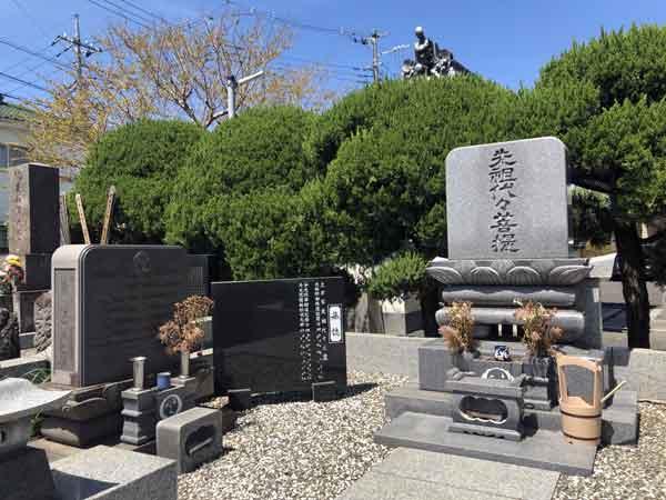 土方勇太郎の墓所