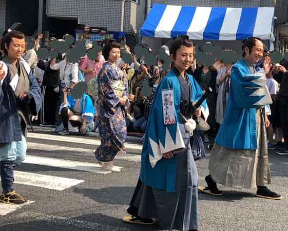 新選組パレード伊東甲子太郎、山南敬助、多摩の歳三、近藤つね