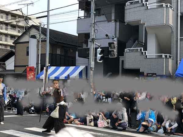 新選組パレードの銃撃戦(原田左之助)