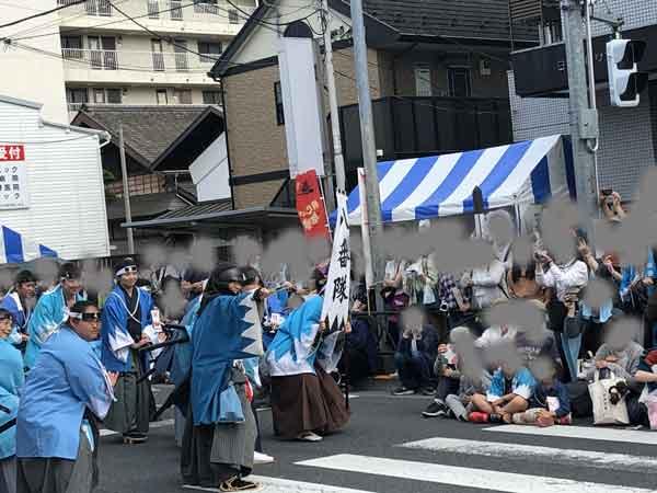 新選組パレードの銃撃戦(藤堂平助)