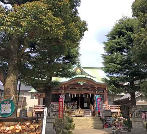 沖田総司が療養した今戸神社