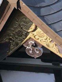 西玉神社の葵のご紋