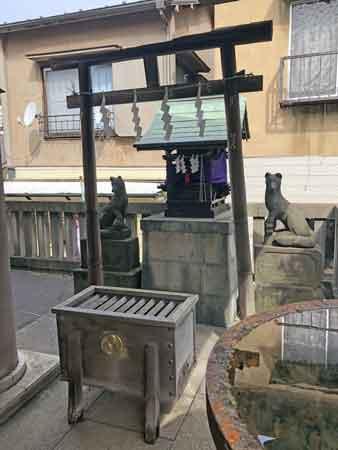 櫻田神社の寿老人(境内社)