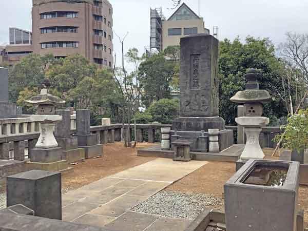 丹羽長国の墓