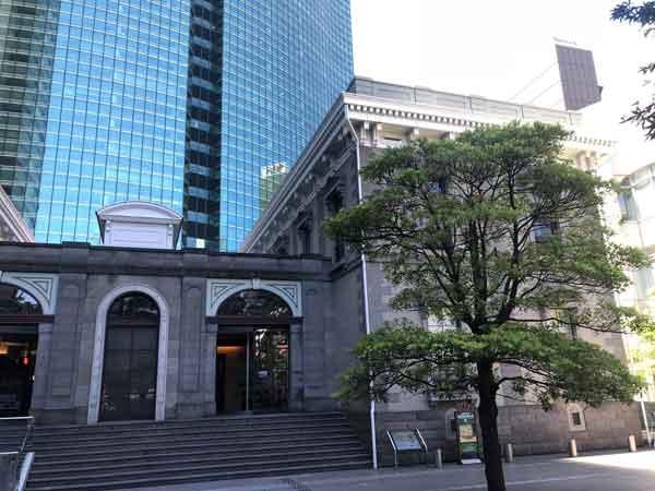 新橋停車場と汐留シティセンター