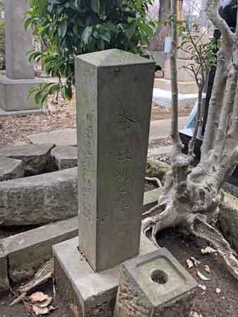 篠原泰之進(秦林親)の墓