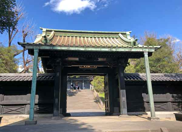 湯島聖堂入徳門