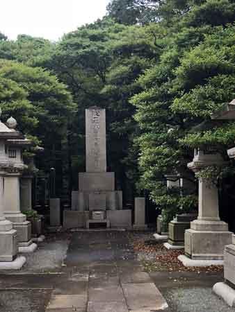 大隈重信の墓(護国寺)