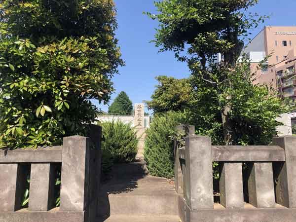 新選組隊士・谷口四郎兵衛の墓