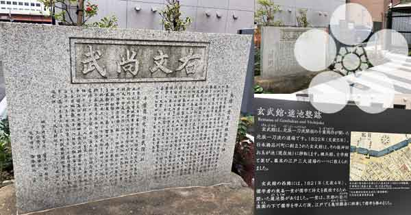 吉村貫一郎ゆかりの地・玄武館跡