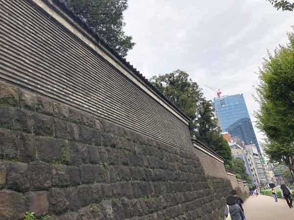 湯島聖堂の築地塀