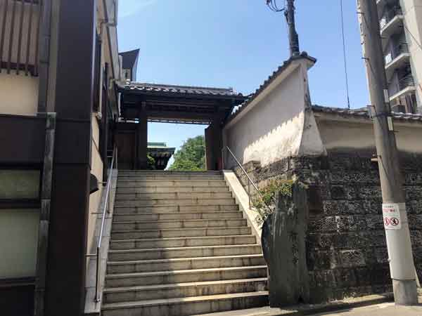 智香寺の山門