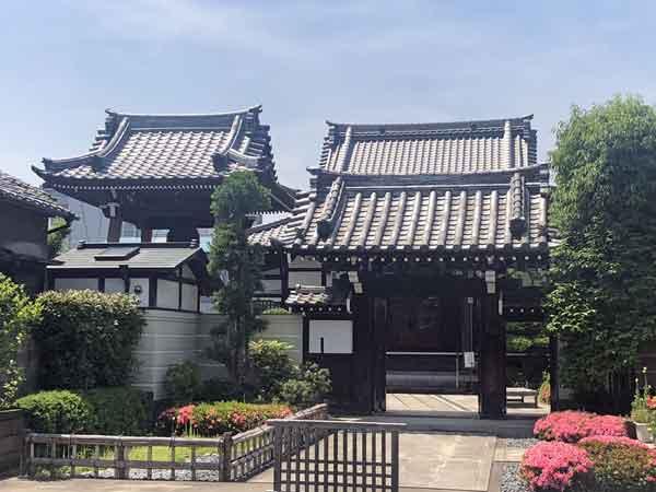 近藤勇や土方歳三も滞在した新福寺