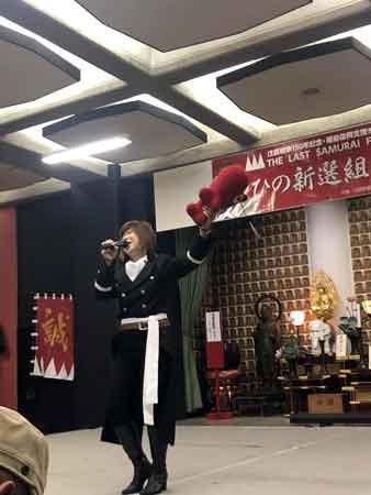 鈴木ミチさんミニライブ